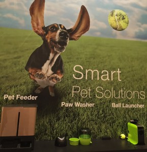 Dog Paw Washer at CES